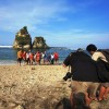 September 2013 Sawarna Beach On Weekend