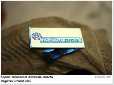 Backpacker Indonesia
